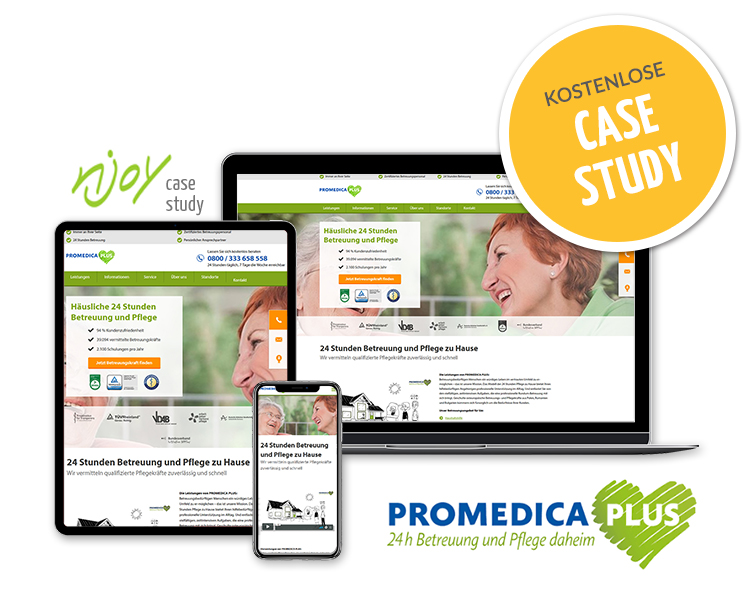 Case Study Promedica Plus Website Relaunch