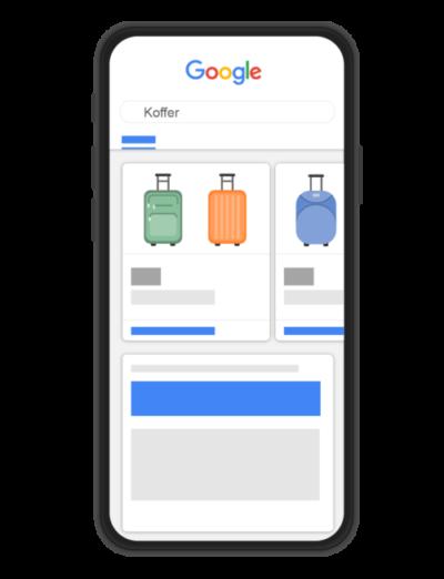 Google Shopping Mobil