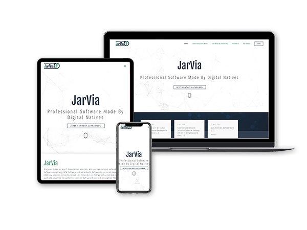 Referenz Webdesign | JarVia