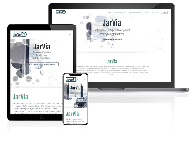 Webdesign Referenz Jarvia
