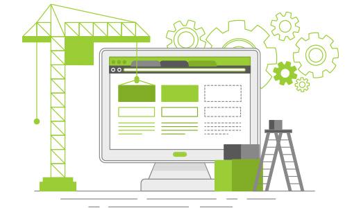 Wordpress Aufbau Grafik