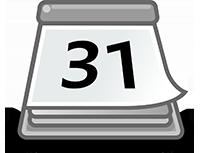 Ein Abreißkalender symbolisiert eine Form der Content Curation: Chronologie.