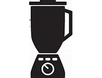 Ein Mixer symbolisiert eine Form der Content Curation: Mashup.
