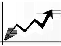 Ein Trendpfeil symbolisiert eine Form der Content Curation: Elevation