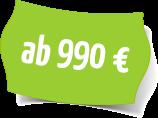Preisschild 990€